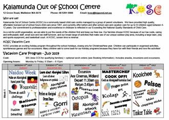 Kalamunda Out of School Care
