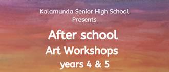 KSHS Presents After School Art Workshops