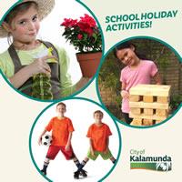 School Holiday Activities – City of Kalamunda