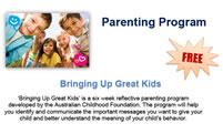 Parenting Program – Bringing Up Great Kids