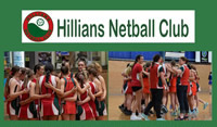 Hillians Netball Club – Saturday Winter Netball Season