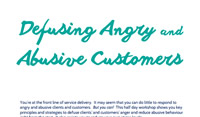Defusing Angry and Abusive Customers