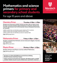 Mathematics and science primers for primary and secondary school students