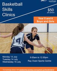 Darling Range Sports College Basketball Skills Clinic