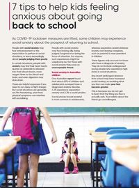 Tips for Coming Back to School