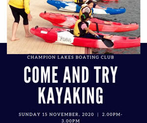 Come & Try Kayaking