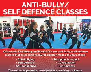 Anti Bullying Self Defence Classes