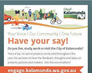 City of Kalamunda – Have your say!