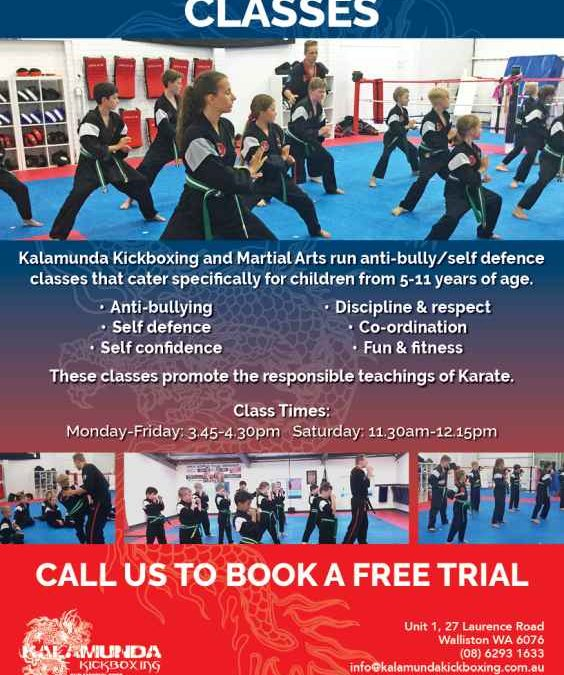 Kids Self Defence Classes
