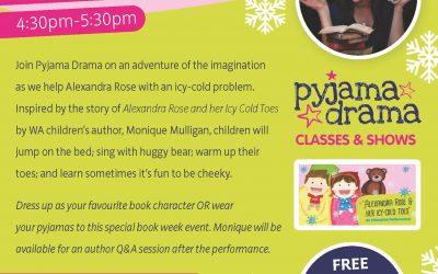 Pyjama Party with Pyjama Drama and Monique Mulligan