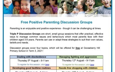 Free Positive Parenting Discussion Groups