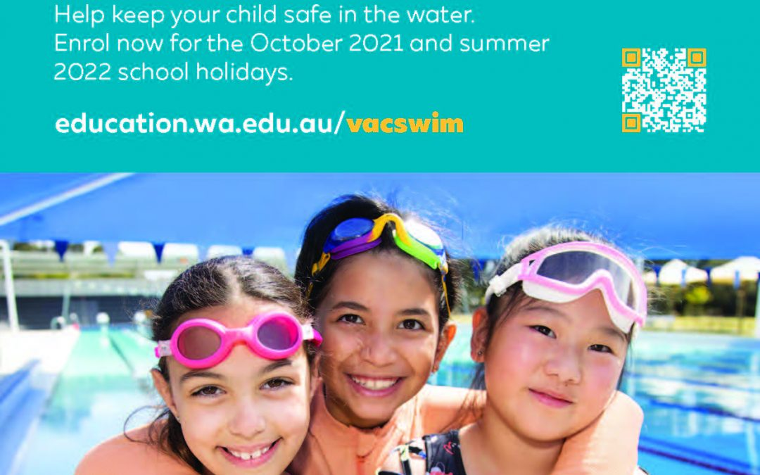 VacSwim Enrolments Now Open