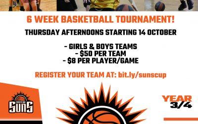 Suns Cup – 6 Week Basketball Tournament